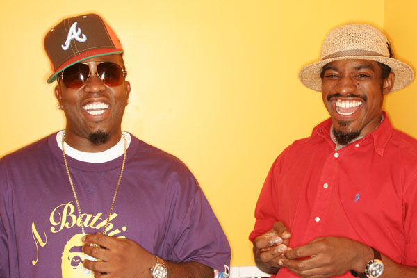 Outkast. Big Boi and Andre 3000 for USA Today July 2006