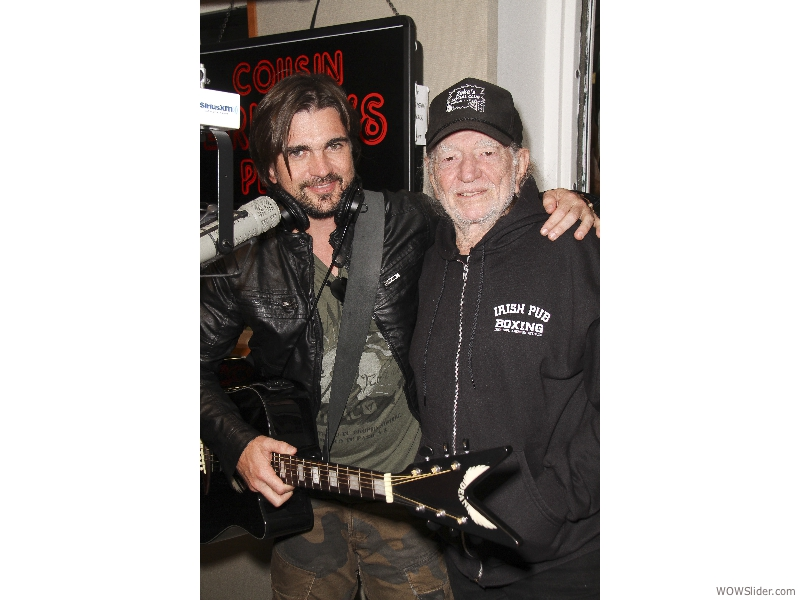 Willie Nelson and Juanes